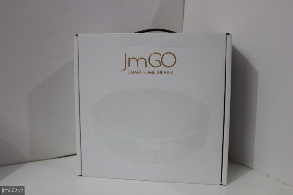 Hình Ảnh Hộp JmGO G1s - Mặt Trước
