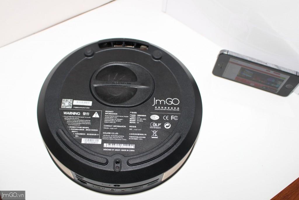 Hình ảnh mặt dưới Máy Chiếu JmGO G1s